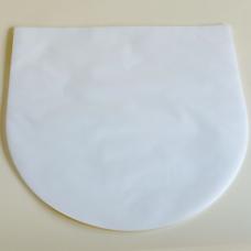 "Antistatic 7"" Single Vinyl Record Inner Sleeve - HDPE Round Bottom - 25 Pack"