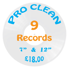 Professional Vinyl Record Cleaning Service - 9 for Six Trial Offer