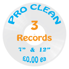 Professional Vinyl Record Cleaning Service - 3 For Free Trial Offer