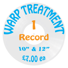 Vinyl Record Flattening & Warp Treatment